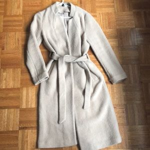 Khaki colored Trench Coat